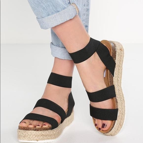 611dab67086 Steve Madden s Kimmie espadrille sandals. M 5b7865b52aa96a5f40a0d57d